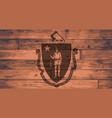 massachusetts flag brand vector image vector image