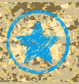 military camouflage background vector image vector image