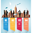 Modern infographic for business project