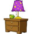 nightstands vector image vector image