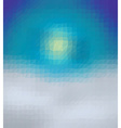 Polygonal template vector image vector image