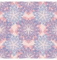 Seamless Colored Ornate Pattern Hand Drawn vector image