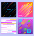 abstract trendy motion backgrounds with vector image vector image