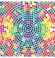 colorful mosaic background abstract modern design vector image vector image