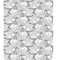 decorative fish seamless pattern vector image vector image