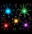 fireworks theme image 2 vector image