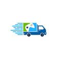game delivery logo icon design vector image