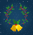 happy merry christmas design vector image vector image