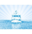 of a ship vector image vector image