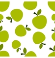 Pattern Silhouette Apples vector image vector image