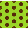 Seamless grungy green pattern vector image vector image