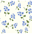 Beautiful bright floral seamless pattern vector image