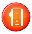 Charger icon flat style vector image vector image