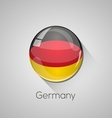 european flags set - germany vector image vector image