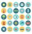 Flat icons set for Web and Mobile Applications vector image vector image