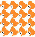 halloween ghost seamless pattern vector image vector image
