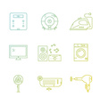 Home appliances vector image vector image