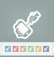 smartphone repair vector image