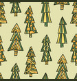 christmas tree xmas background vector image vector image