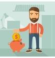 Money savings Concept vector image