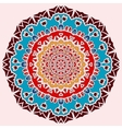 Oriental mandala print Round lase pattern on the vector image vector image