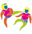 Sport icon design for judo vector image