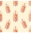 Tribal Mask Seamless Pattern vector image