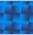 3d curve tile seamless pattern blue 001 vector image vector image