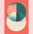 Abstract geometric pattern grunge background