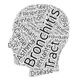 asmatic bronchitis text background wordcloud vector image vector image