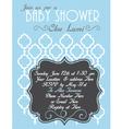 Baby-Shower Elegant vector image vector image