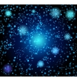 Background in the form of a starry sky vector image vector image