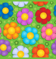 flowery seamless background 9 vector image