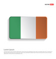 ireland flag design vector image