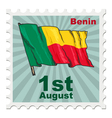 national day of Benin vector image vector image
