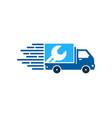 repair delivery logo icon design vector image vector image