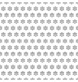seamless pattern of geometric shapes on a white ba vector image vector image