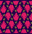 seamless pattern with leaves with very beautiful vector image vector image