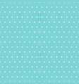 white polka dots on light blue background vector image vector image