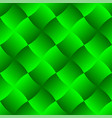 3d curve tile seamless pattern green 003 vector image vector image