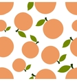 Pattern Silhouette Peaches vector image vector image