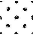 terrier dog pattern seamless black vector image vector image