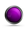 web button is purple vector image vector image