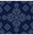 abstract vintage geometric wallpaper pattern vector image vector image