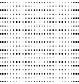 big and small dots horizontal vector image vector image