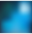 Blue blur background vector image vector image