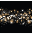 christmas and new year starry background 0511 vector image vector image