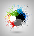 Color Splashes vector image
