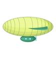 Elliptic airship icon cartoon style vector image vector image