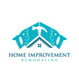 home improvement logo vector image